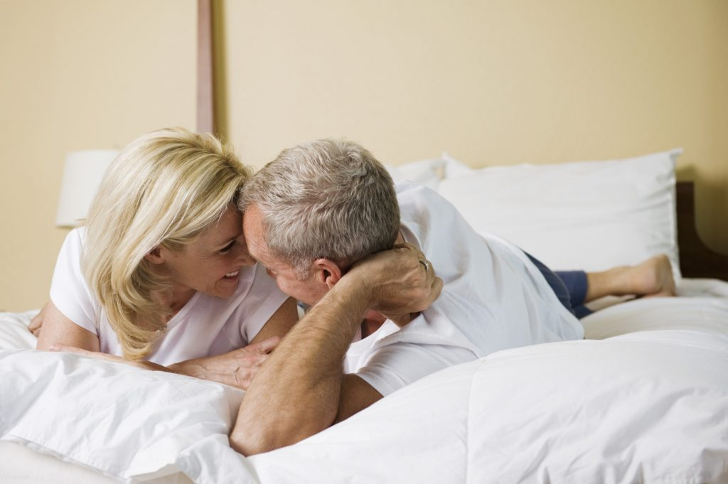old man makes wife happy because he had sexual stamina to last longer in sex